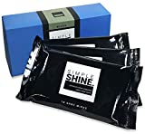 30 Disposable Shoe Wipes Set Leather Sneakers Dress Shoes and More