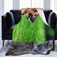 毛布 掛け毛布 犬と猫 ひざ掛け ふとん ブランケットフランネル おしゃれ 軽量 ふわふわ あったか 厚手 暖かい秋冬用