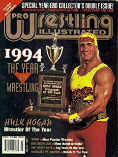 Pro Wrestling Illustrated Magazine: 1994 The Year in Wrestling (March 1995)