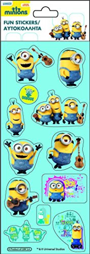 Factory – Minions-Gru, Blister Stickers (77454014)