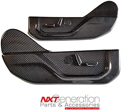 California Pony Cars Carbon Fiber Max 86% OFF Replacem Max 46% OFF Seat Cover Panel Side
