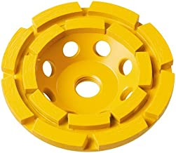 7 in double row diamond cup grinding wheel