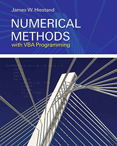 Compare Textbook Prices for Numerical Methods with VBA Programming 1 Edition ISBN 9780763749644 by Hiestand, James