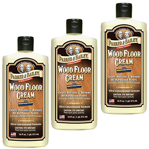 Parker & Bailey Wood Floor Cream Pack of Three (Forty-Eight Ounces)