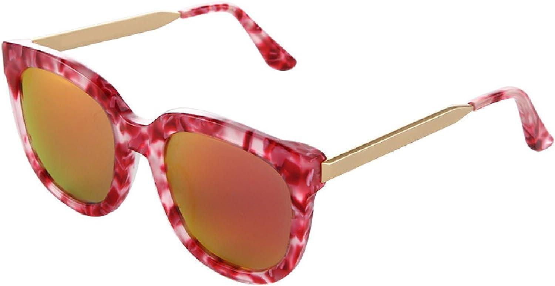 Square Glasses Sunglasses Metal Legs Square Glasses Male And Female Polarized color Film Sunglasses,A1