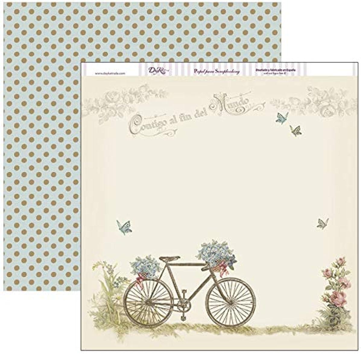 Dayka Trade Printed Paper, Multi-Colour, 30 x 30 cm