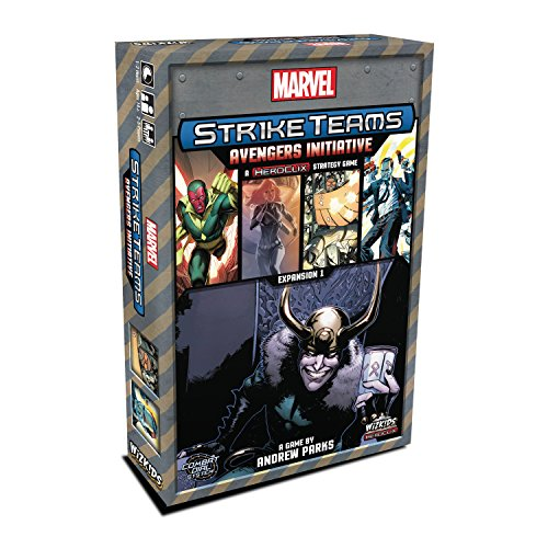 WizKids Marvel Strike Teams Strategy Game: Avengers Initiative - Expansión Juego de...