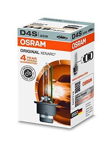 Osram XENARC ORIGINAL D4S HID Xenon-Brenner, Entladungslampe, Erstausrüsterqualität OEM, 66440, Faltschachtel (1 Stück)