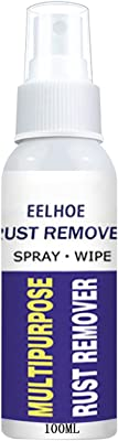 Multipurpose Rust Remover Spray, Anti-Rust Lubricant Derusting Spray Polishing Agent, Stainless Steel Cleaner, Car Maintenance Cleaning derusting Spray (100 ML)