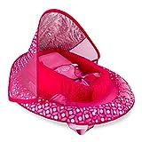 SwimWays Infant Baby Spring Float - Pink Flower