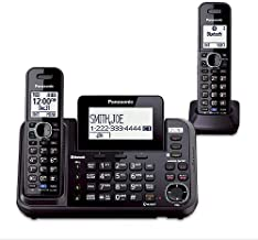 Panasonic KX-TG9552B Link2Cell Bluetooth Enabled 2-Line Phone with Answering Machine (2 Handset)