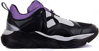 Sail Lakers - Siyah, Mor Kadın Günlük Spor Ayakkabı