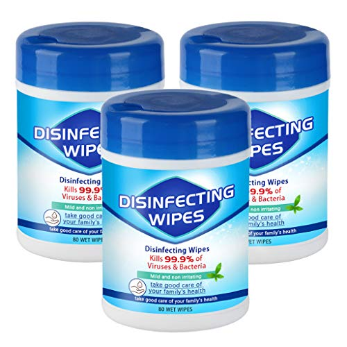 240 Sheets 75﹪ Alcohol Disposable Cleaning Wìpes $21.00 (80% OFF)