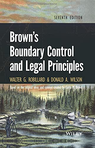 Compare Textbook Prices for Brown's Boundary Control and Legal Principles 1 Edition ISBN 9781118431436 by Robillard, Walter G.,Wilson, Donald A.