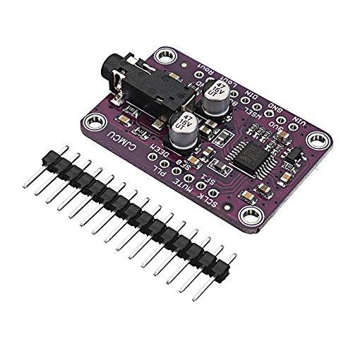 Módulo electrónico Tablero de módulo de decodificador estéreo de audio I2S para 3.3V - 5V UDA1334A Equipo electrónico de alta precisión