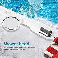 シャワーキャディー ノズルの高圧力ノズル、ABS加ファッション雰囲気、光と繊細なスプリンクラー、バスルームアクセサリー