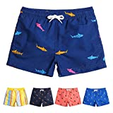 MaaMgic Boys 5T 6T Swim Trunks Toddler Swim Shorts Little Boys Bathing Suit Swimsuit Toddler Boy Swimwear