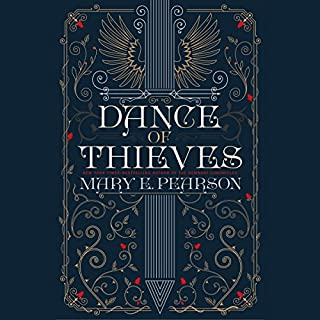 Dance of Thieves                   Written by:                                                                                                                                 Mary E. Pearson                               Narrated by:                                                                                                                                 Karissa Vacker,                                                                                        James Patrick Cronin,                                                                                        Ann Marie Lee                      Length: 16 hrs and 27 mins     4 ratings     Overall 3.8