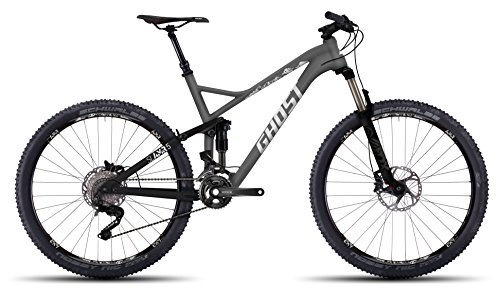 Ghost slamr 5Gray/Black/White–Fully–Mountain bike–Telaio in alluminio taglia S