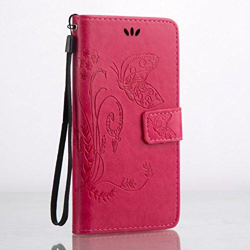 Huawei Honor 5C Hülle Coozon Premium PU Leder Hülle Ledertasche Flip Schutzhülle Tasche mit St?nderfunktion & Kartenf?cher Für Huawei Honor 5C (5.2 Zoll)