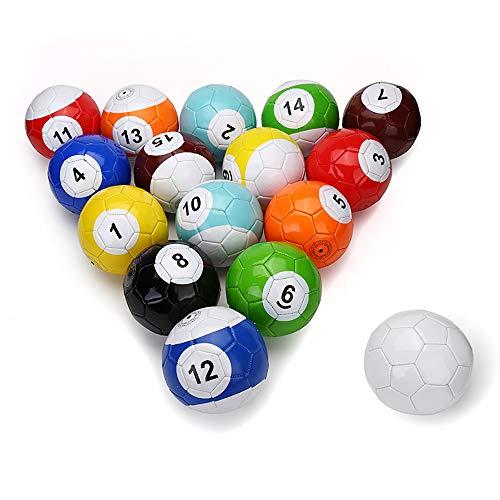 Elektrische Magic 16PCS Riesiges snookball Nase-Ball Snooker Street Soccer Ball Spiel großen Billard Pool Fußball Sport Poolball # 5