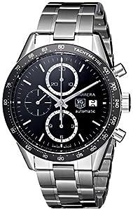 TAG Heuer Men's CV2010BA0794 Carrera Black Dial Watch image