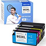 Mycartridge 4 compatibile per HP 953XL 953 XL Multipack Cartucce per stampanti per HP OfficeJet Pro 7720 7730 7740 8210 8218 8710 8715 8720 8725 8730 8740 All-in-One stampante