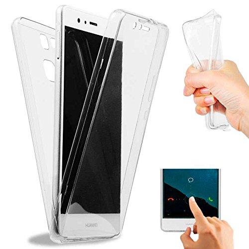OcioDual Funda de Silicona TPU 360 para Huawei P9 EVA-L09 Case Gel Completa Thin Cover