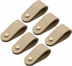 Creatwls 6 stks Moderne Kast Knoppen Deur Pull Meubels Hardware, Keuken/Woonkamer Lade Handvatten Kast Knoppen