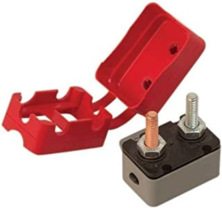 Sea-Dog 420855-1 Resettable Circuit Breaker with Cover , 50 Amp