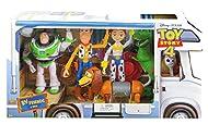 Toy Story 4 RV Friends 6 Pack Figures Woody, Buzz, Rex, Jessie, Slinky & Forky