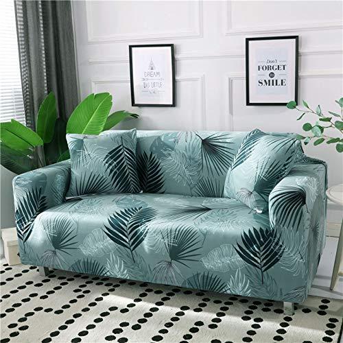 WXQY 24 Colores para Elegir Funda de sofá Asiento elástico Fundas de sofá loveseat sillón funiture Fundas sofá Toalla 1/2/3/4 plazas A29 3 plazas