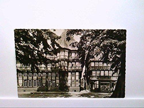 AK Goslar, Münzgasse, Fachwerkbauten, Marktstraße, Geschäft Pelze u. Hüte, 1962, Echt Foto, Gelaufen.