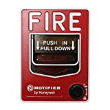 Notifier Nbg-12Lx Fire Alarm Addressable Pull Station Key Lock