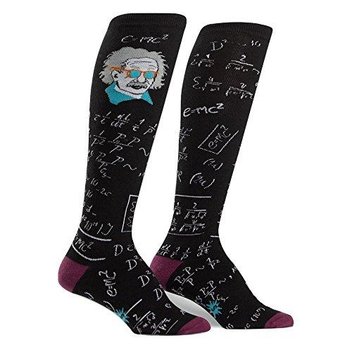 Sock It To Me Women's Einstein Relatively Cool Knee High Socks