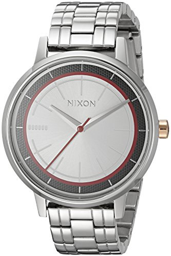 Nixon Men's Star Wars Phasma Japanese-Quartz Watch with Stainless-Steel Strap, Silver, 16 (Model: A099SW2445-00)