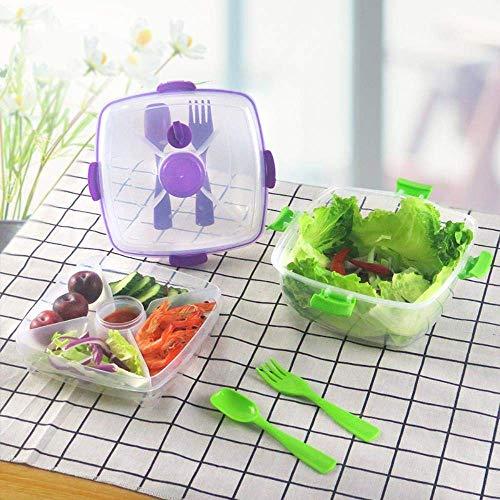 Pkfinrd verzegeld vierkant Crisper koelkast plastic regenboog voedsel opslag dozen bewaardoos container keuken benodigdheden, willekeurige kleur