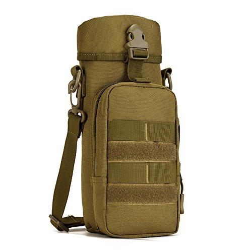 GAOHAILONG 750ml Voyage Kettle Bag Outdoor Petit Sac Messenger Nylon 9,5 * 27,5 * 8cm, 1