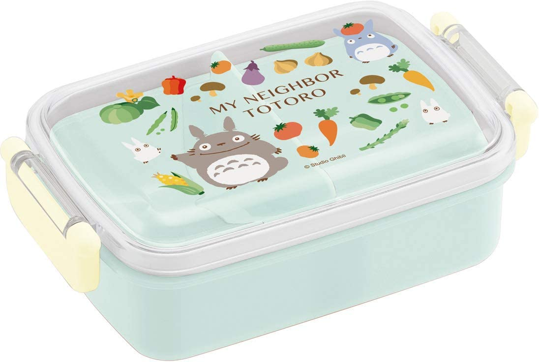 Skater RBF3AN Lunch Box for Kids Neighborhood Totoro Ghibli, 16.
