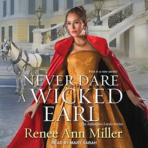 Never Dare a Wicked Earl audiobook cover art