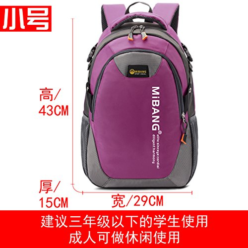 El Coreano Edition all-backpacks, ocio viajes, sus Mochilas escolares, Small Deep Violet