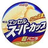 [冷凍] 明治 エッセルスーパーカップ 超バニラ 200ml