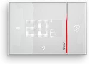 BTicino SX8000 Smarther Termostato Connesso da Incasso con Wi-Fi Integrato, Bianco