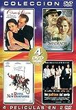 COLECCIÓN 4 PELÍCULAS EN 2 DVD,/ OBJETO DE SEDUCCION / SHADRACH / EL HOTEL NEW HAMPSHIRE /LOS PADRINOS DEL NOVIO
