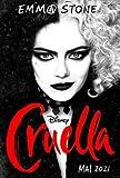 Cruella – Emma Stone – French Wall Poster Print - 43cm
