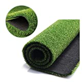 FANSRON Artificial Grass Turf (32IN X80IN), for Iindoor Outdoor Landscape, Balcony, Door Mat, Floor MatCarpet,Patios, and Dogs Training Pads Potty ,Easy to Clean with Drainage Holes