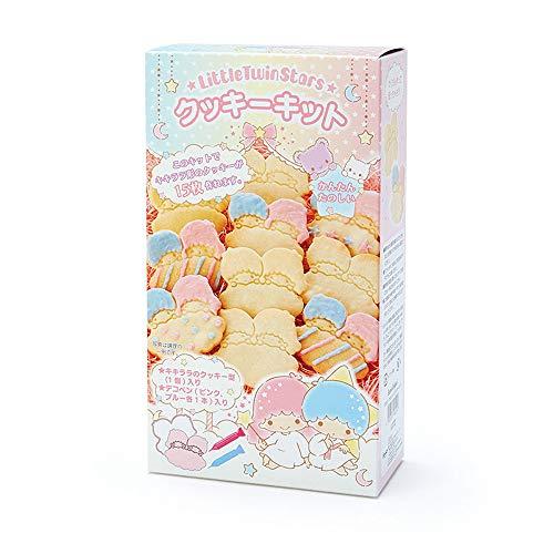 (SANRIO)リトルツインスターズ 簡単キャラクター形手作りクッキーキット, レッド 182095