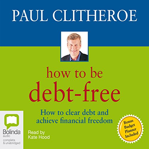 How to Be Debt-Free audiobook cover art