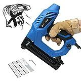 Elektrotacker Nagelpistole Elektrische Nagelpistole/Tacker DIY Kit mit 100 Stück 25 mm Nägeln &...