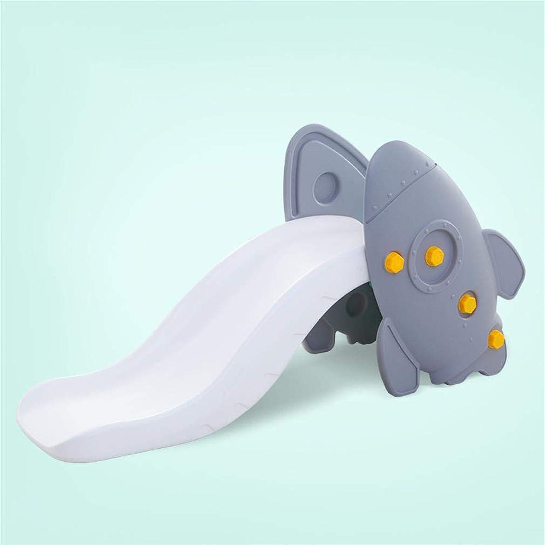 ALUK- Rocket Slides Home Indoor Kinder-VergnüGungspark Dicker Kunststoff Baby Slides